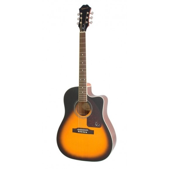 AJ-220SCE Acoustic Electric Guitar Vintage Sunburst