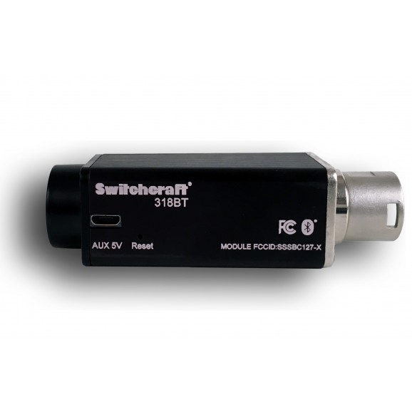 Phantom Powered Bluetooth Receiver 318BT