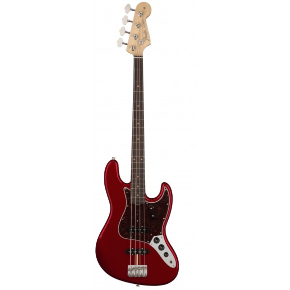 Fender American Original '60s Jazz Bass with Rosewood Neck in Candy Apple Red