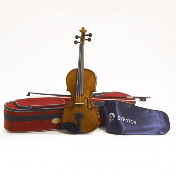 Stentor Student II Violin Outfit 4/4 Satin Full Size (Suits age 12+)