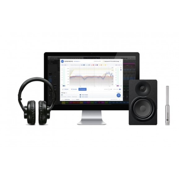Sonarworks Reference 4 Studio Calibration Software with Mic