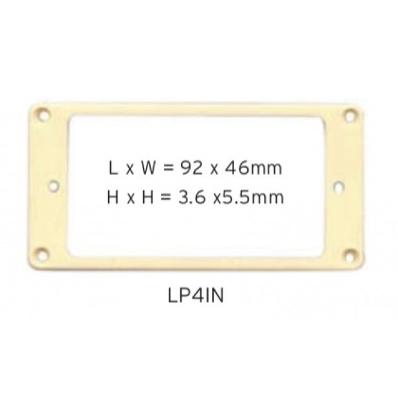 Pickup Mounting Ring - Cream - LP4IN