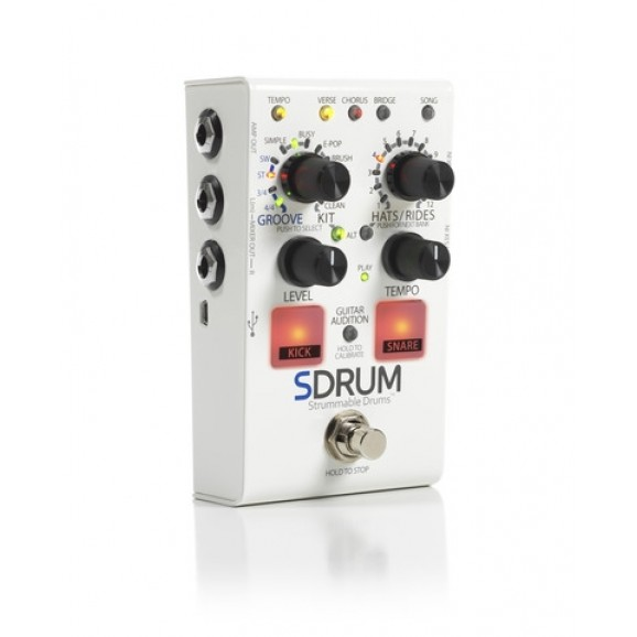 DigiTech SDRUM - Drum Machine Pedal for Guitarists - PRE ORDER