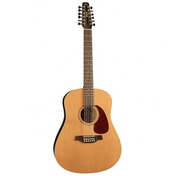Seagull Dreadnought 12 String Guitar with Solid Cedar Top