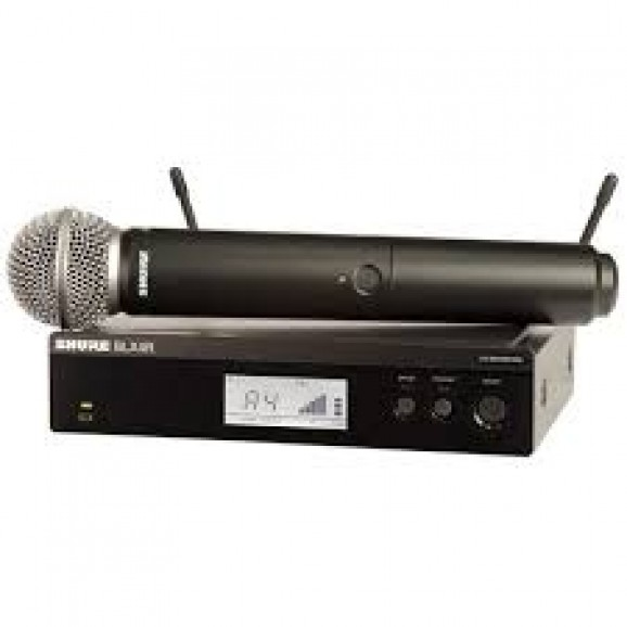 Shure BLX24R / SM58 Wireless Handheld Microphone System