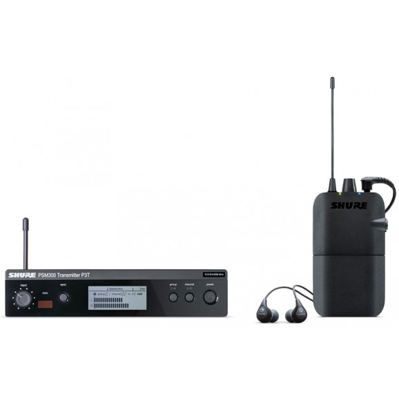 PSM300 Wireless In Ear Monitor System w/ SE112 Earphones