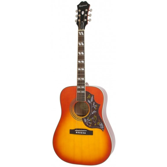 Epiphone - Hummingbird Pro Acoustic Electric Gutiar in Faded Cherryburst
