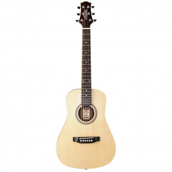 Joeycoustic Mini Acoustic Guitar - Natural