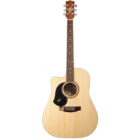 SRS60C Left Handed Acoustic Electric Guitar + Deluxe Hard Case