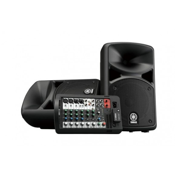 Yamaha STAGEPAS400BT Portable PA System with Bluetooth Connectivity