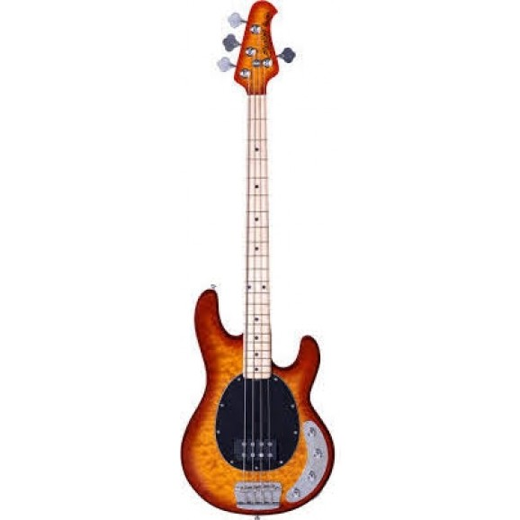 Sterling Ray34 Stingray Electric Bass African Mahogany