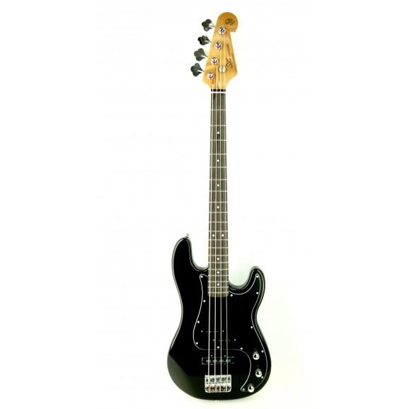 Essex P&J Bass in Black includes Gig Bag