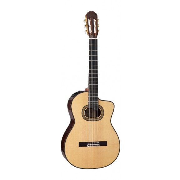 Takamine TH90 Hirade Classical Pro Series Guitar Acoustic Electric With Cutaway