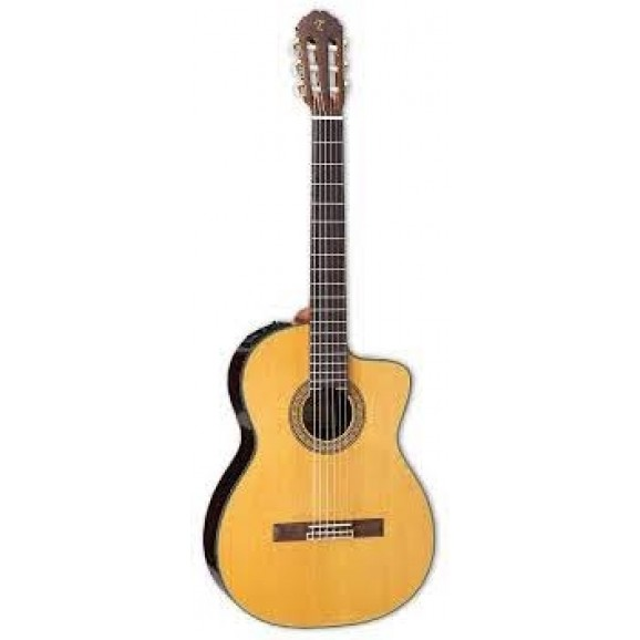 Classical Acoustic / Electric Guitar with C/Away Natural with Solid Cedar Top