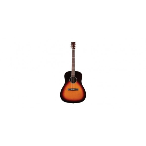 Tasman TA200D-E Drop Shoulder Dreadnought Acoustic Electric Guitar