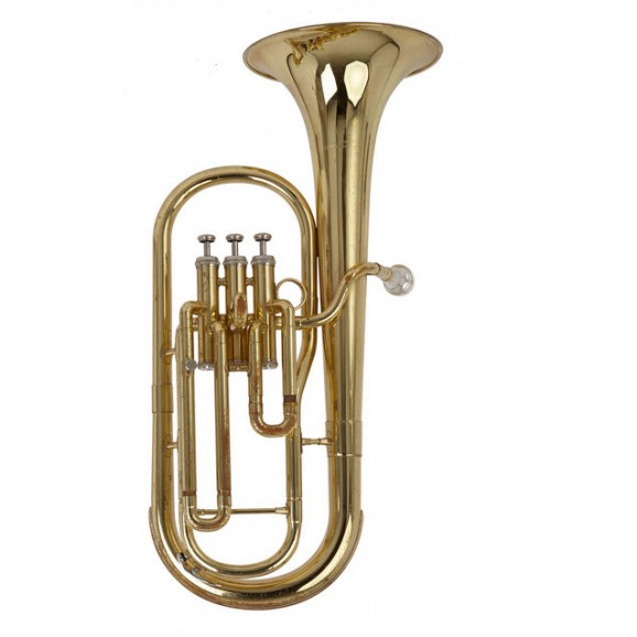 Tenor Horn Bb Gold Lacquer Finish