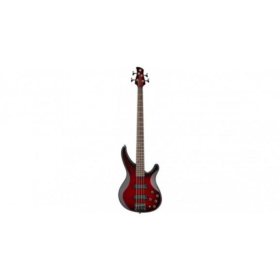 Yamaha TRBX605 5 String Active-Passive Bass Guitar - Dark Red Burst