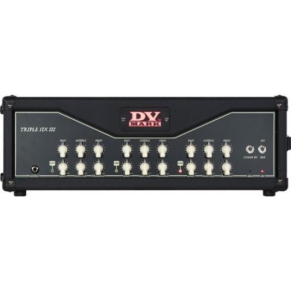 Triple Six III 120w 3 Channel Amp Head