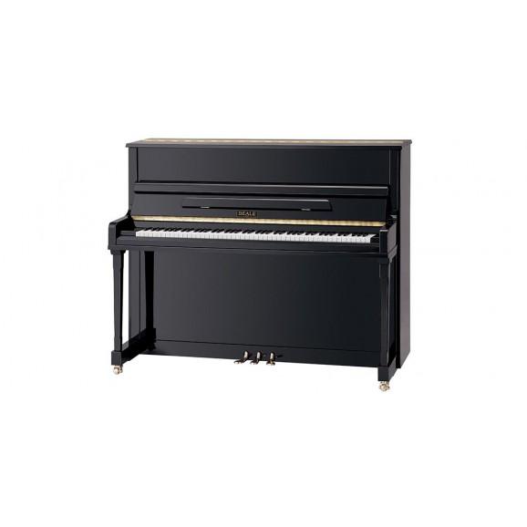 Beale UP121S 121cm Upright Piano - Ebony