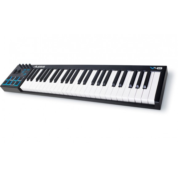 V49 USB MIDI Controller Keyboard 49 Keys