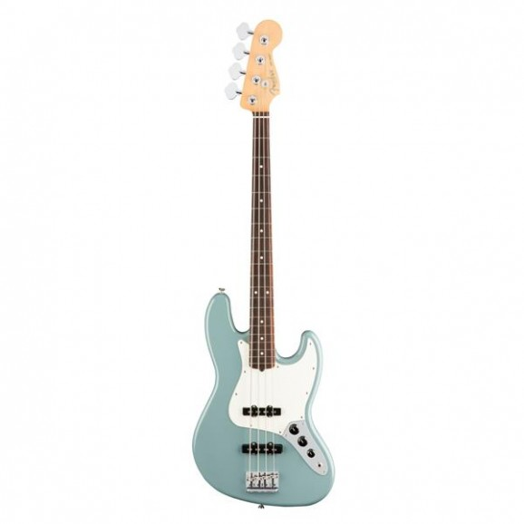 American Pro Jazz Bass Sonic Grey Rosewood Neck