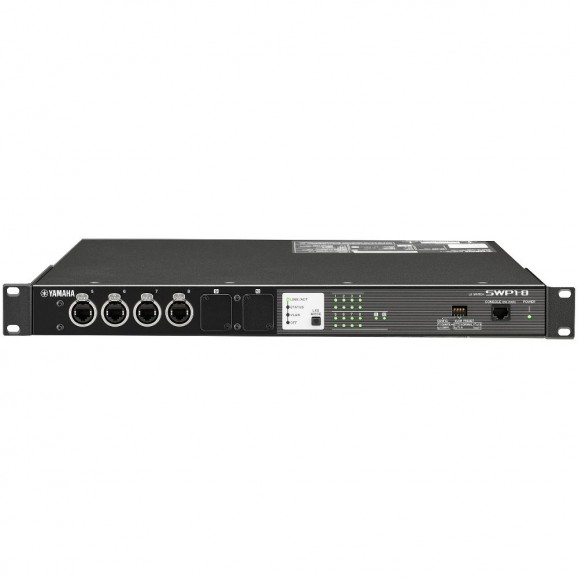 Yamaha 8X Ethercon Network Ports - Network Switch