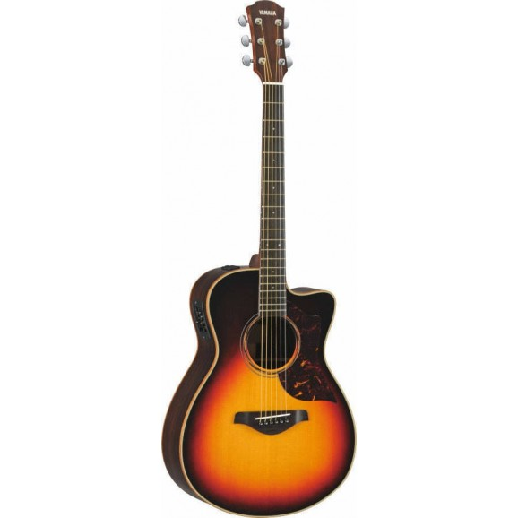 Yamaha AC1R Acoustic Guitar /w Pickup in Brown Sunburst