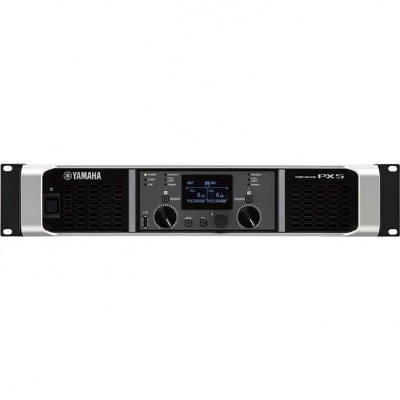 Yamaha PX5 Power Amplifier 2x500 Watts @80 Ohms with Digital Processing