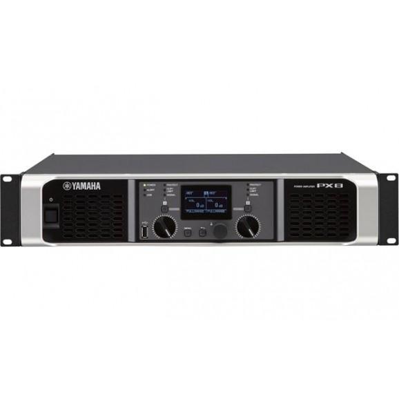 PX8 2x800w Power Amplifier with Digital Processing